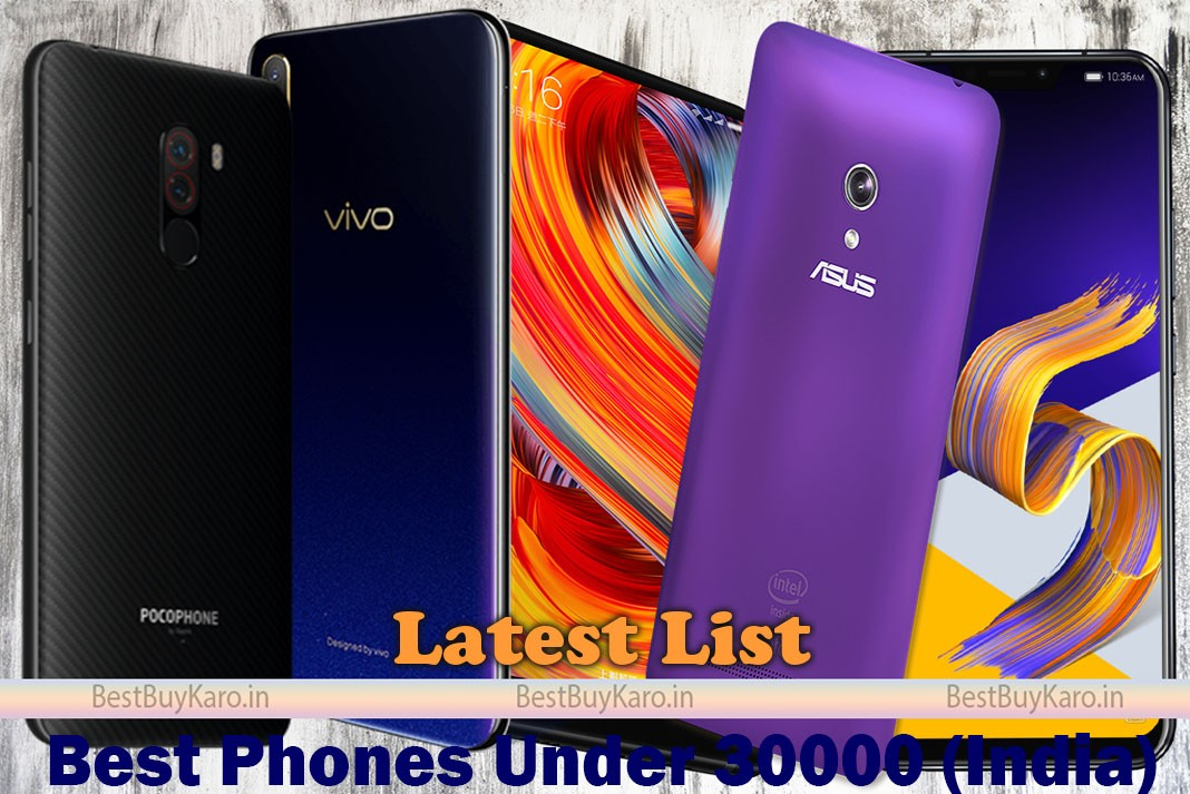 best phones under 30000 in india