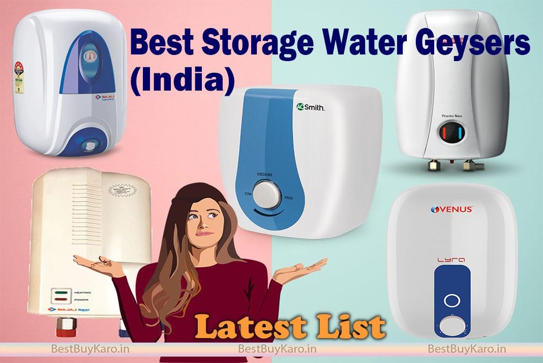 Best geyser in India, top 10 water heaters online