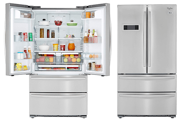Best French Door Bottom Mount side by side Refrigerator