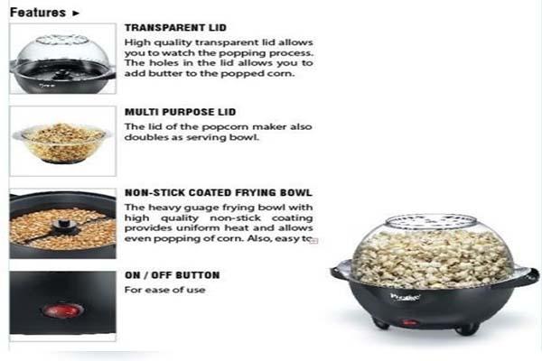 Best Popcorn Maker Machine in India For Home, top 10 buy online