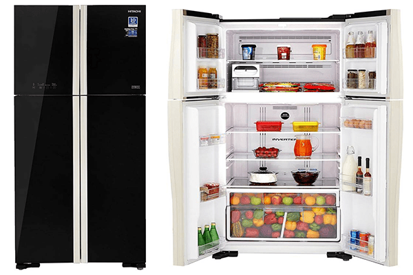 Double Door Top Mount best side by side Refrigerators