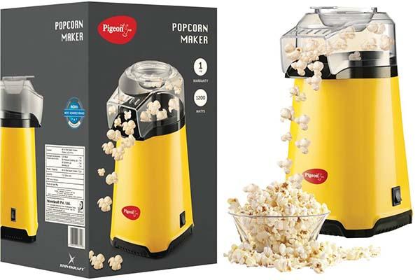 Popcorn Maker Machine in India, top 10 best buy online - Pigeon Pop Corn Maker