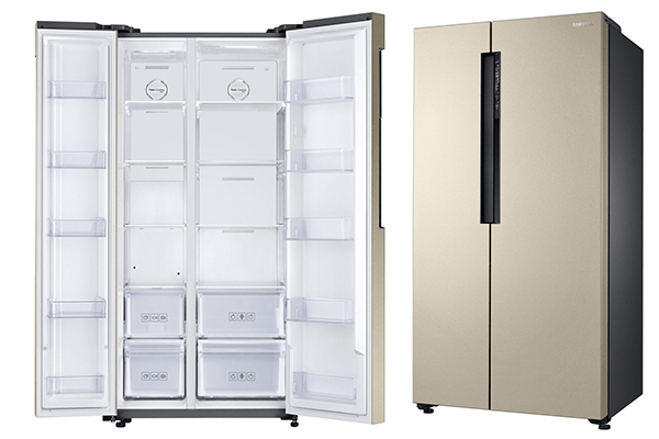 Side by side refrigerators in India
