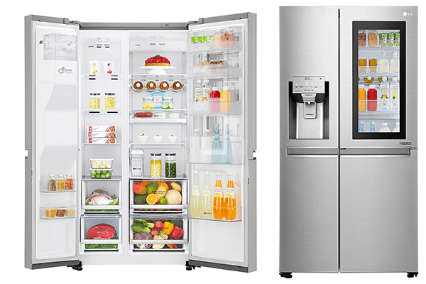 Best Side-by-Side InstaView Door-in-Door Refrigerator