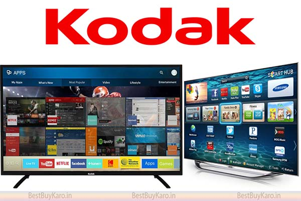 KODAK is one among top TV brands in India