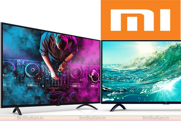 MI (Xiaomi) TV Best TV brand in India in budget range