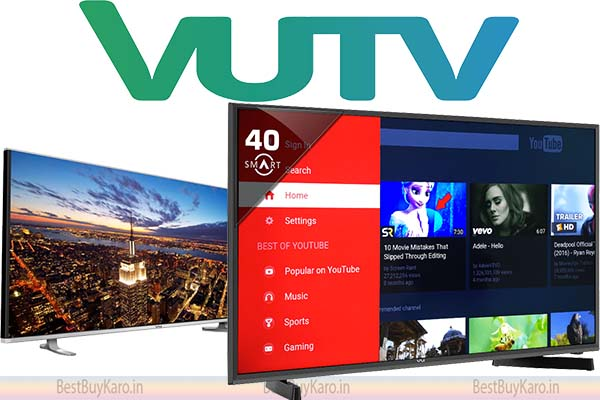 VU best TV brand in budget range